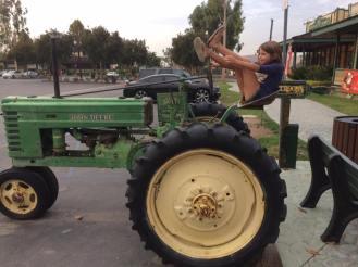 obligatory tractor climbing
