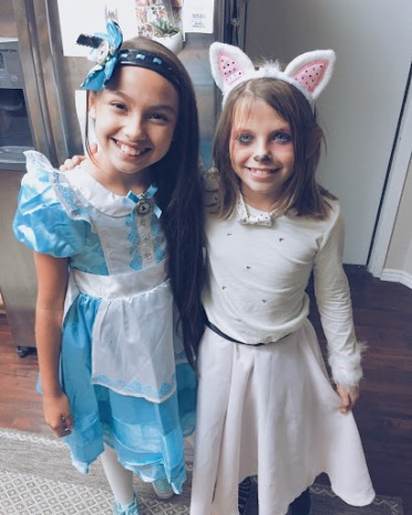 Halloween (after) with Izzy